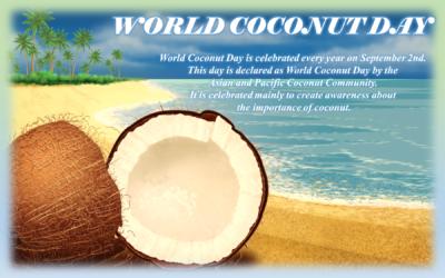 World Coconut Day – September 2nd